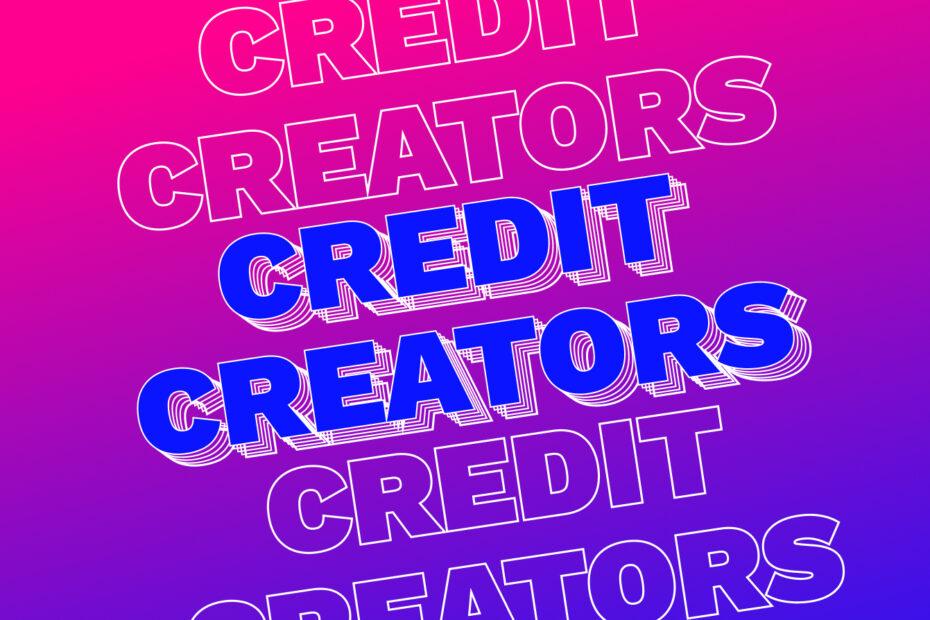 credit your creators